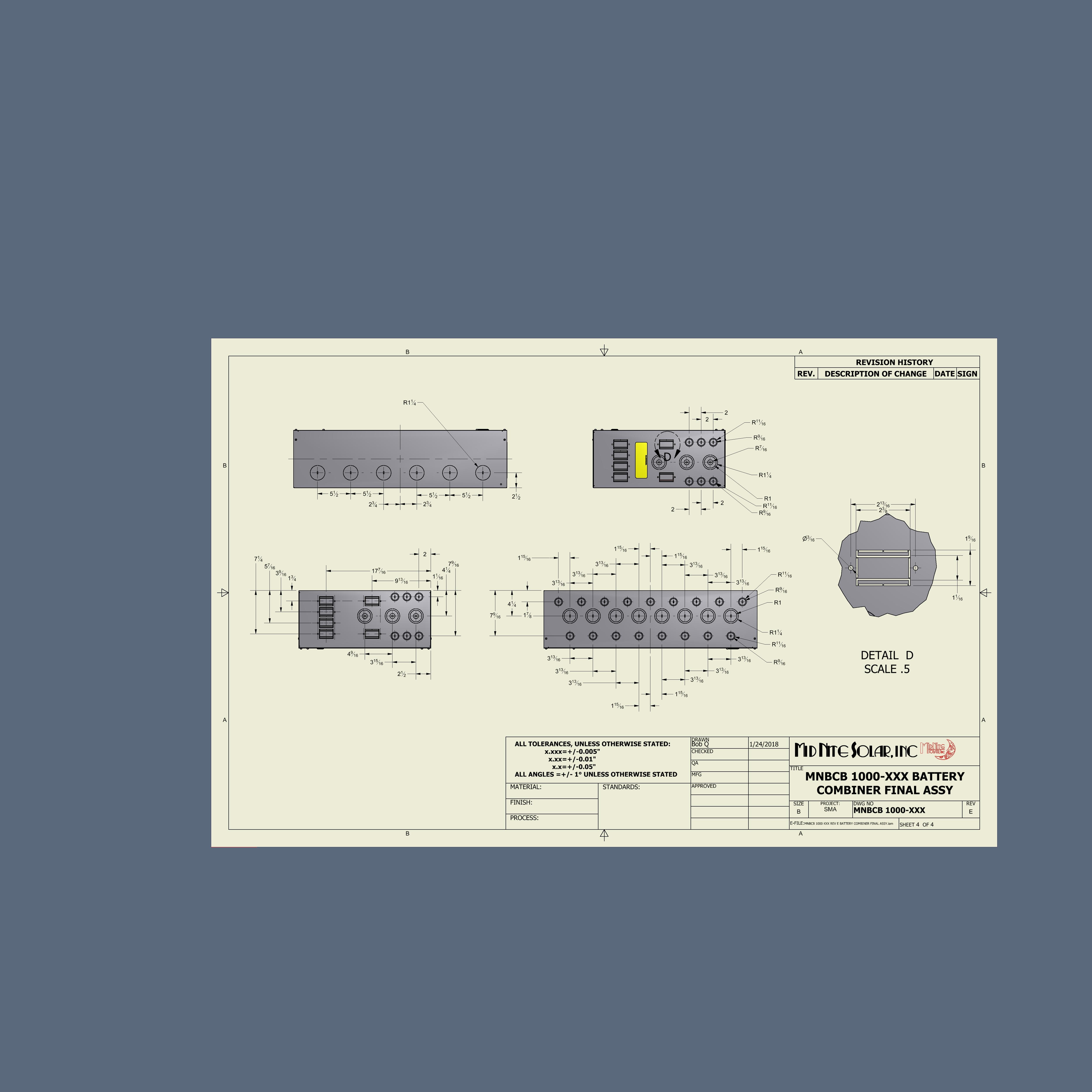 Midnite Solar Mnbcb 1000 50 Northern Arizona Wind Sun Cathodic Protection Wiring Diagram Combiner Drawing