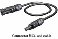 MC4 Interconnect Cables and Adaptors for Solar Electric Panels