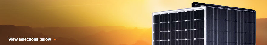 High Power Solar Panels - Over 100 Watts