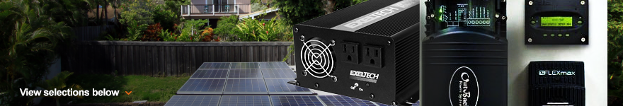 Inverters - Battery Based, Off Grid, RV & Backup
