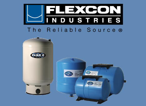 Flexcon Industries Water Pressure Tanks for Wells