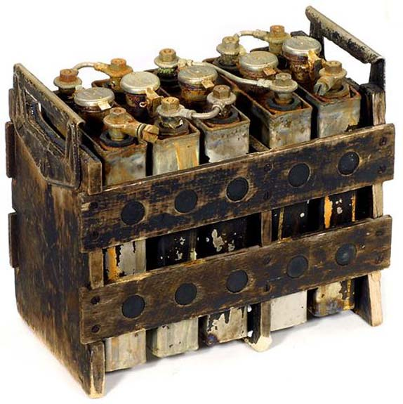 Thomas Edison's Battery